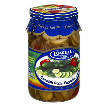 Lowell Foods All Natural Swedish Style Vegetable Salad