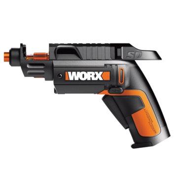Worx WX254L 4 Volt Semi Automatic Power Screwdriver With 12 Driving B, 1 ea