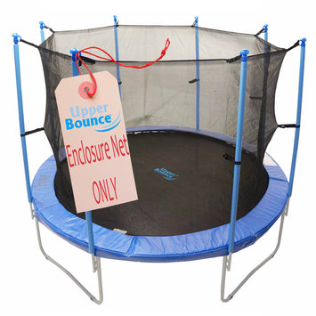 King Service Holding 13' Round Trampoline Net Using 8 Poles or 4 Arches