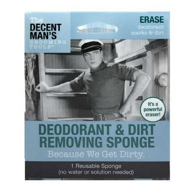 The Decent Man's Grooming Tools Deodorant & Dirt Removing Sponge