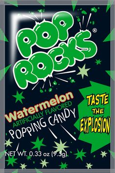 Pop Rocks Watermelon Candy