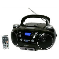Jensen Portable AM/FM Stereo CD Player with MP3 Encoder/Player CD-750