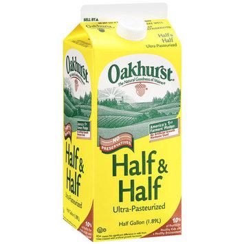 Oakhurst Half & Half, 64 oz