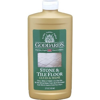 Goddards Stone and Tile Floor Clean and Shine Liquid, 22-Ounce