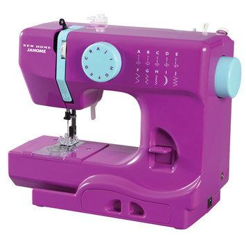 Janome America, Inc. Janome Purple Thunder Half Size Portable Sewing Machine