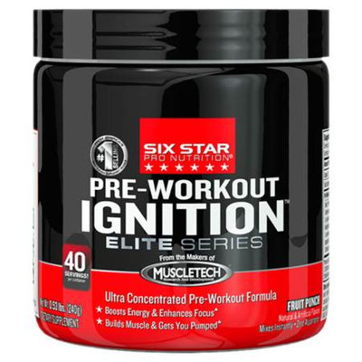 Six Star Professional Strength Pre-Workout Ignition Elite Series