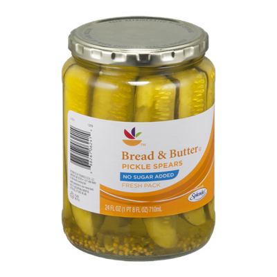Ahold Pickle Spears Bread & Butter No Sugar Added