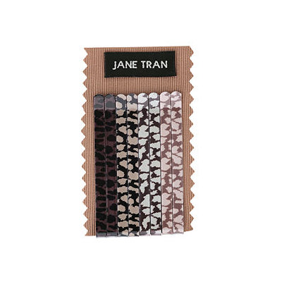 Jane Tran Hair Accessories Animal Print Bobby Pin Set