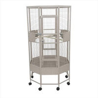 A & E Cage Co. Octagon Parrot Bird Cage