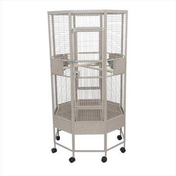 A & E Cage Co. Octagon Parrot Bird Cage