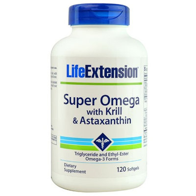 Life Extension Super Omega with Krill & Astaxanthin 120 Softgels