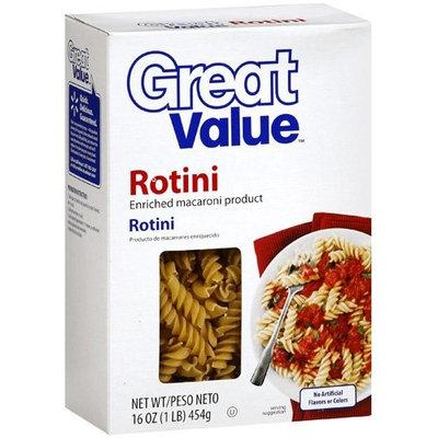 Great Value: Rotini Pasta, 16 oz