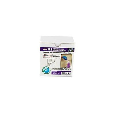 Stn ST0851EST Restroom & Bowl Cleaner Concentrate  Green Seal Certified  2 oz packets  100/CT