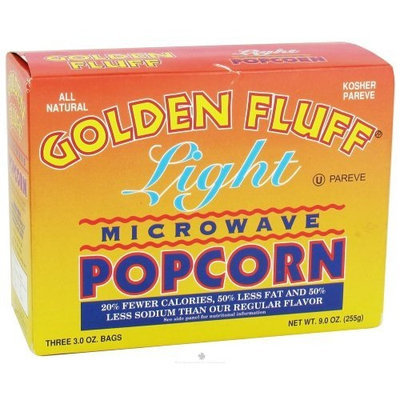 Golden Fluff Microwave Popcorn - Lite