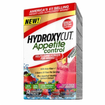 Hydroxycut Appetite Control Drink Mix Packets, Mixed Berry, 14 ea