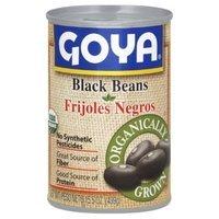 Goya Organic Black Beans, 15.5-Ounce (Pack of 8)