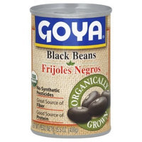 Goya Organic Black Beans, 15.5-Ounce (Pack of 8)