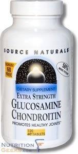 Source Naturals Bonus Source Naturals Glucosamine Chondroitin Extra Strength, 120 Tablet