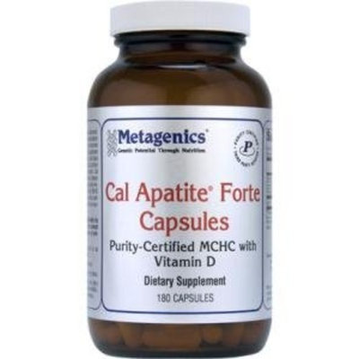 Metagenics Cal Apatite Bone Builder Forte Capsules, 180 Count