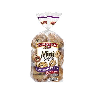 Pepperidge Farm® Cinnamon Raisin Mini Bagels