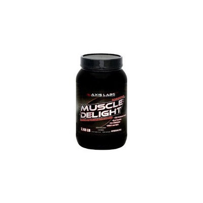 Axis Labs Muscle Delight Vanilla, 2.48lb, 2.8 Bottle
