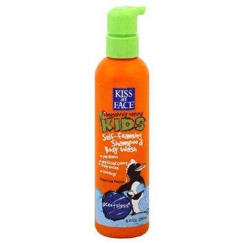 Kiss My Face Self Foaming Shampoo & Body Wash, Scentsless 8 fl oz