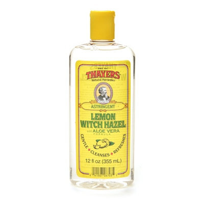 Thayers Lemon Witch Hazel with Organic Aloe Vera Formula Astringent