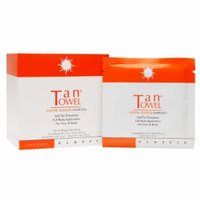 Tantowel Classic Self-Tan Towelette Full Body Application, Face & Body, Fair/Medium, 15 ea