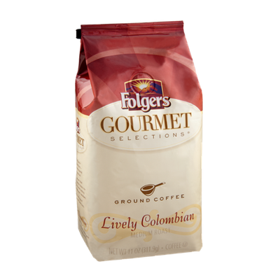 Folgers Gourmet Selections Lively Colombian Ground Coffee