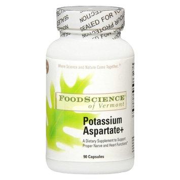 FoodScience of Vermont Potassium Aspartate+ Capsules