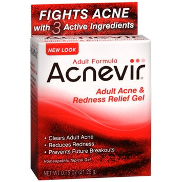 Acnevir Adult Acne & Redness Relief Gel, .75 oz