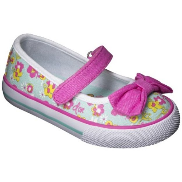 Toddler Girl's Dora The Explorer Canvas Sneakers - Mint 12
