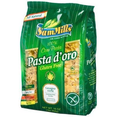 Sam Mills Gluten Free Pasta D'Oro, Lasagne Corte, 16-Ounce Bags (Pack of 12)