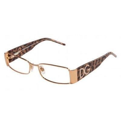 Dolce & Gabbana Eyeglasses 1143B 212 Gold + Horn Temple