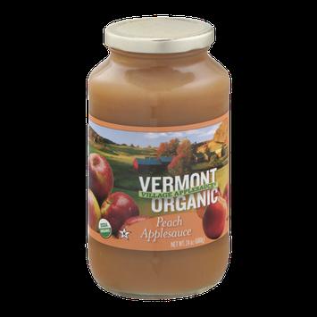 Vermont Village Organic Applesauce Peach