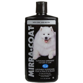 Mirra Coat Mirra-Coat O3 Organic Liquid Coat Conditioner for Dogs, 16-Ounce