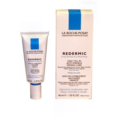 La Roche-Posay Redermic Daily Fill-In Anti-Wrinkle Firming Care for Normal to Combination Skin (40ml) 1.35 Fluid Ounce Tube
