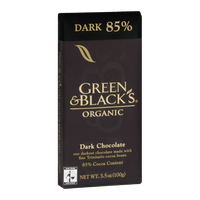 Green & Black's Organic Dark 85% Dark Chocolate