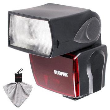Sunpak PF30X/DigiFlash2800 Electronic Flash Unit for (Nikon i-TTL) for D3200, D3300, D5200, D5300, D7000, D7100, D610, D800, D4s Digital SLR Cameras