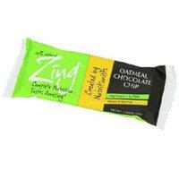 Zing Bars Zing Oatmeal Chocolate Chip Nutrition Bar, 1.76-ounce Bars (Box of 12)