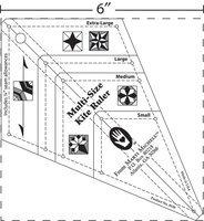 Marti Michell 80287 Multi-Size Kite Ruler