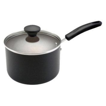 Farberware Reliance 3 Quart Covered Saucepan-Black