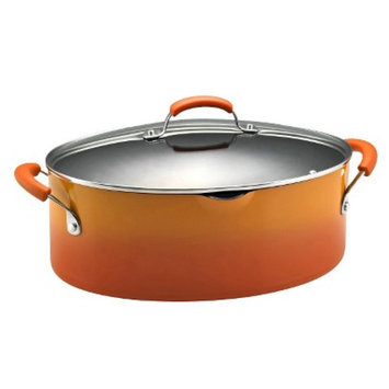 Rachael Ray Porcelain Covered Oval Pasta Pot