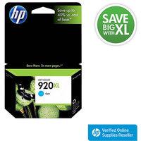 Hewlett Packard HP 920XL High Yield Cyan Original Ink Cartridge