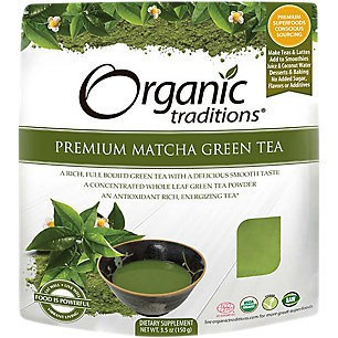 Organic Traditions Organic Premium Matcha Green Tea