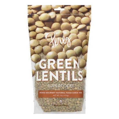 Pereg Gourmet Bean Lentil Green 16 Oz Case Of 6