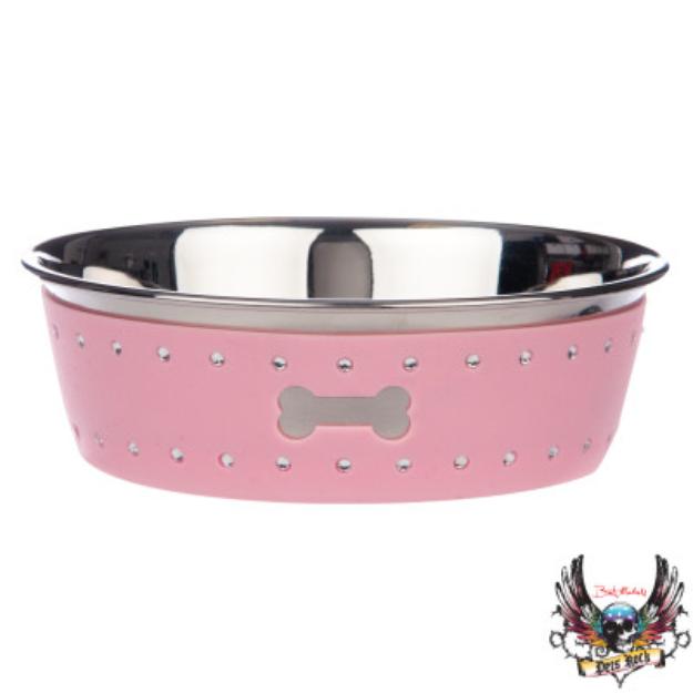 Bret Michaels Pets RockTM Bling Dog Bowl