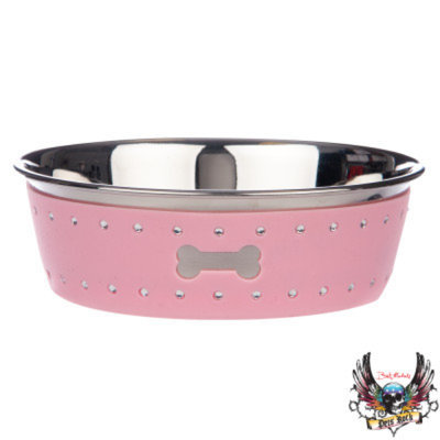 Bret Michaels Pets RockTM Bling Dog Bowl