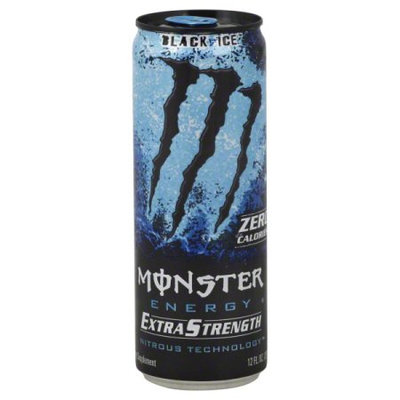 Monster Energy Extra Strength Black Ice