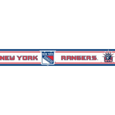 NHL New York Rangers Wallborder - 5.5